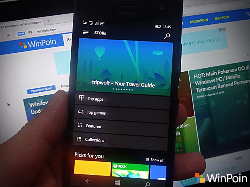 10 Fitur Baru di Windows 10 Mobile Anniversary Update yang Layak Kamu Coba