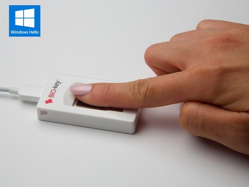 BIO-key: Fingerprint yang Kompatible untuk Semua Device Windows 7, 8.1, and 10