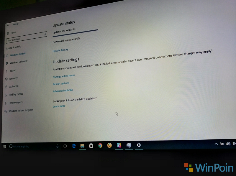Windows 10 PC Build 14393.105 Sudah Tersedia