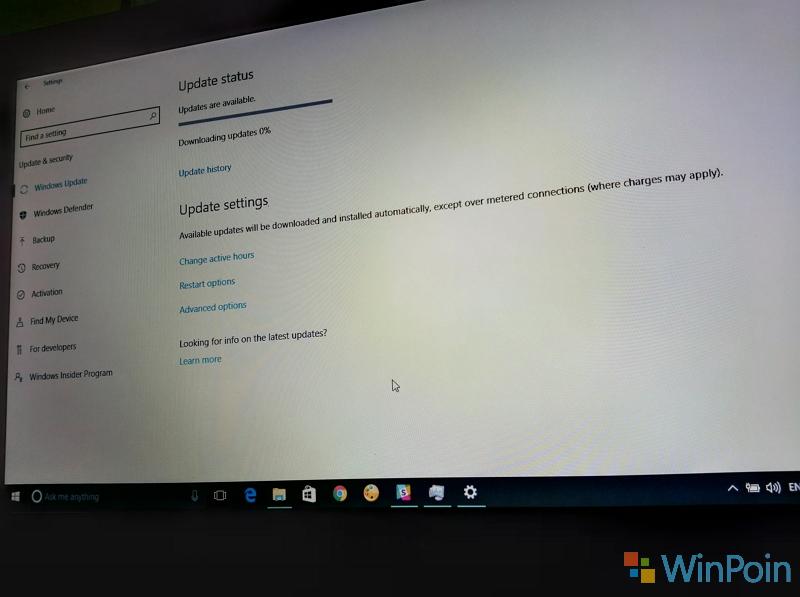 Windows 10 PC Build 14393.105 Sudah Tersedia