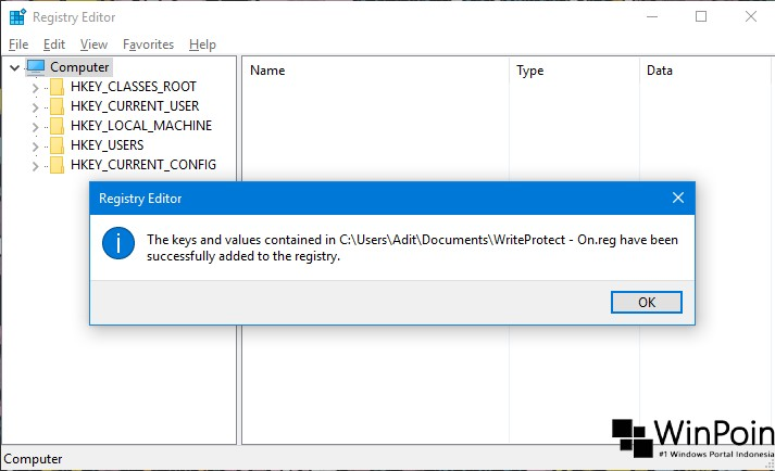Cara Import Registry Editor di Windows 10 (3)
