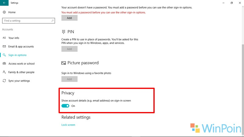 5 Cara untuk Memodifikasi Windows 10 Lock & Sign in Screen