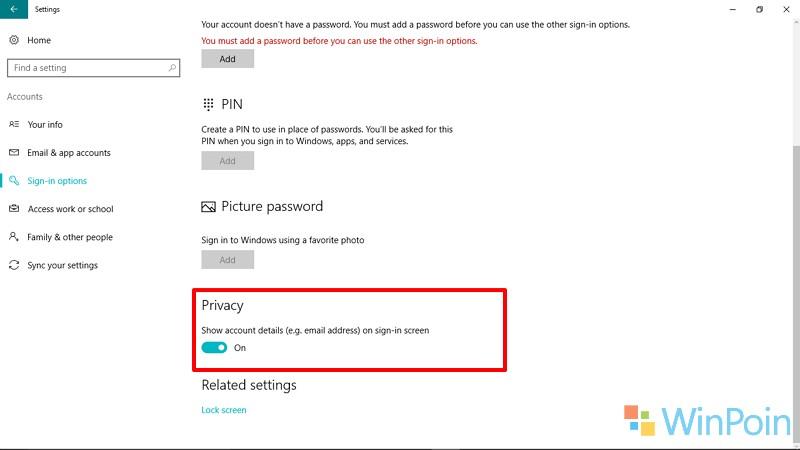 5 Cara untuk Memodifikasi Windows 10 Lock & Sign in Screen