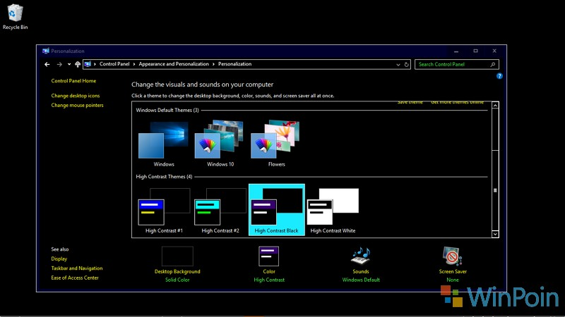 Cara Agar Hampir Semua Elemen di Windows 10 Bernuansa Gelap