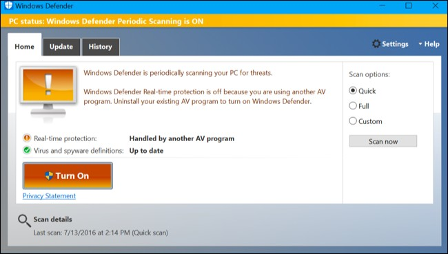 Cara Scan Windows Secara Rutin dengan Windows Defender