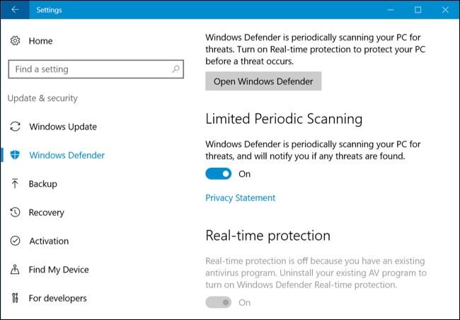 Cara Scan Windows Secara Rutin dengan Windows Defender