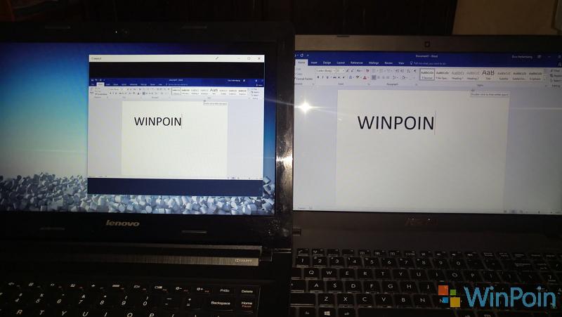 Cara Menjadikan Windows 10 PC Menjadi Wireless Display