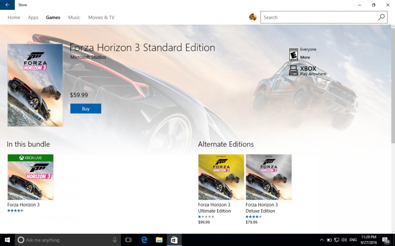 Game Racing Forza Horizon 3 Dirilis ke Windows 10, Ini Kebutuhan Spesifikasinya