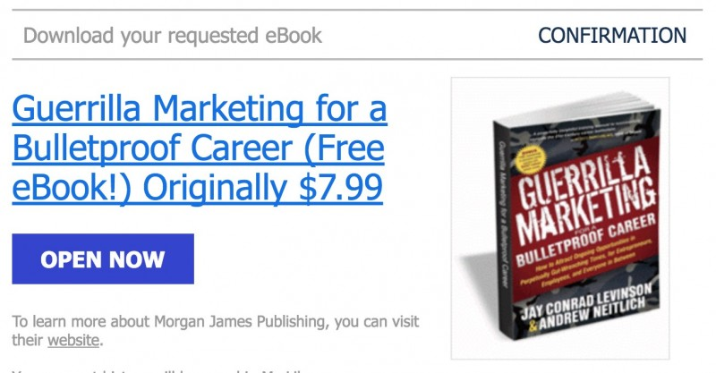 Download Ebook Premium: Guerrilla Marketing Senilai 105rb, Gratis!