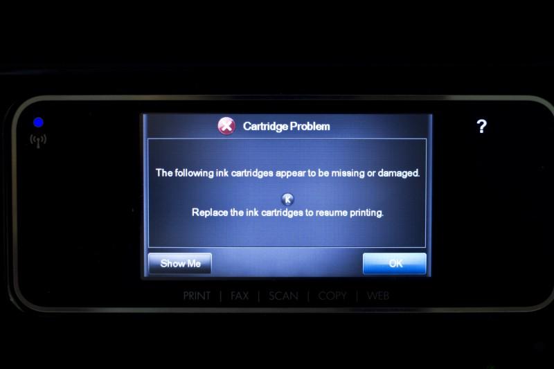 HP Sengaja Membuat Printer Kamu Error Jika Menggunakan Catridge Non-Original