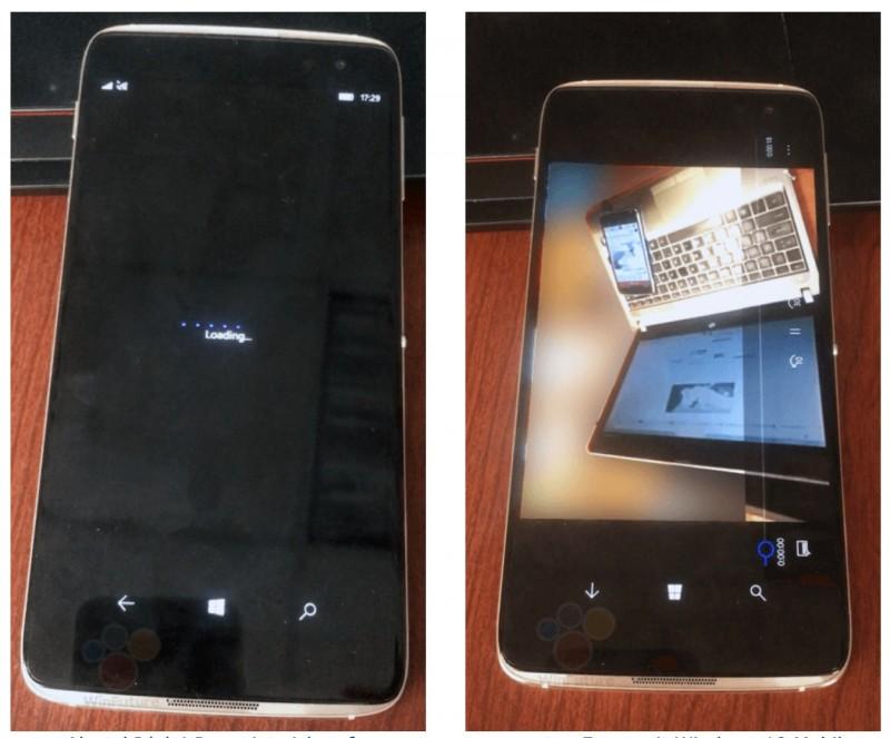 "Penampakan Idol 4 Pro, Windows 10 Mobile ""Superphone"" Buatan Alcatel"