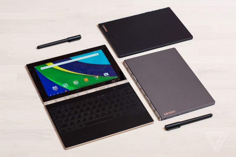 Tablet PC Revolusioner: Lenovo Yoga Book dengan Touch Keyboard Futuristik