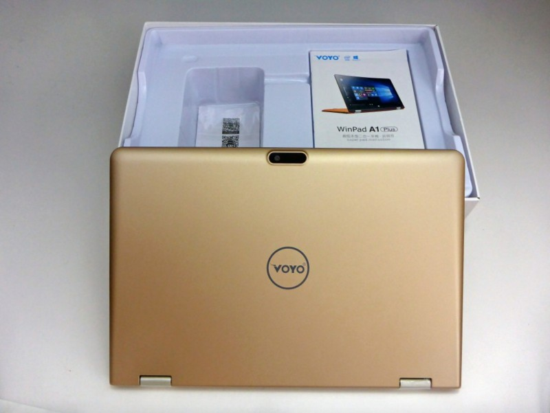 VOYO A1 Plus Ultimate Gold: Ultrabook Dual OS Seharga 3.1 Jutaan