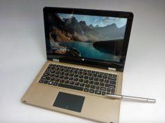 VOYO A1 Plus Ultimate Gold: Ultrabook Dual OS Seharga 3.1 Jutaan