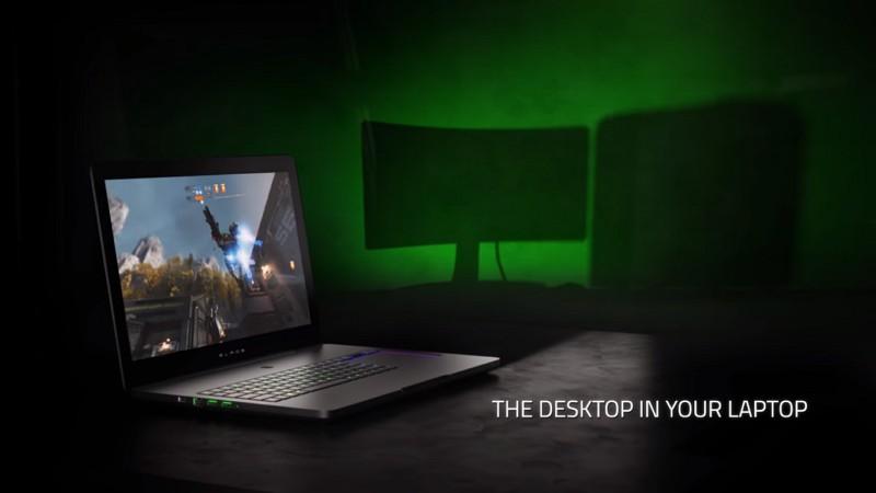 Razer Pro Blade: The Desktop in your Laptop