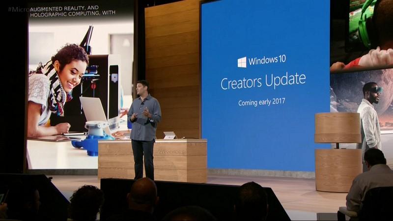 Windows 10 Creator Update Dirilis Awal 2017