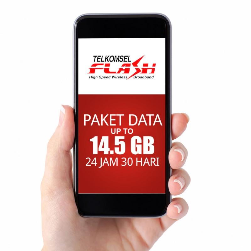 Hot: Kuota Telkomsel up to 14,5GB Cuma 100 Ribuan