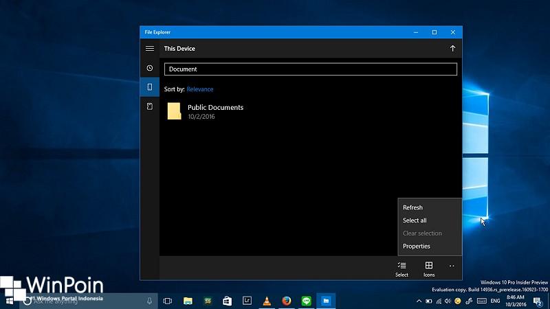 review-universal-file-explorer-di-windows-10-build-14936-14