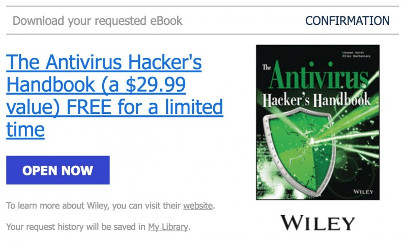"HOT: Download Ebook ""Antivirus Hacker"" Senilai 390rb, Gratis!"