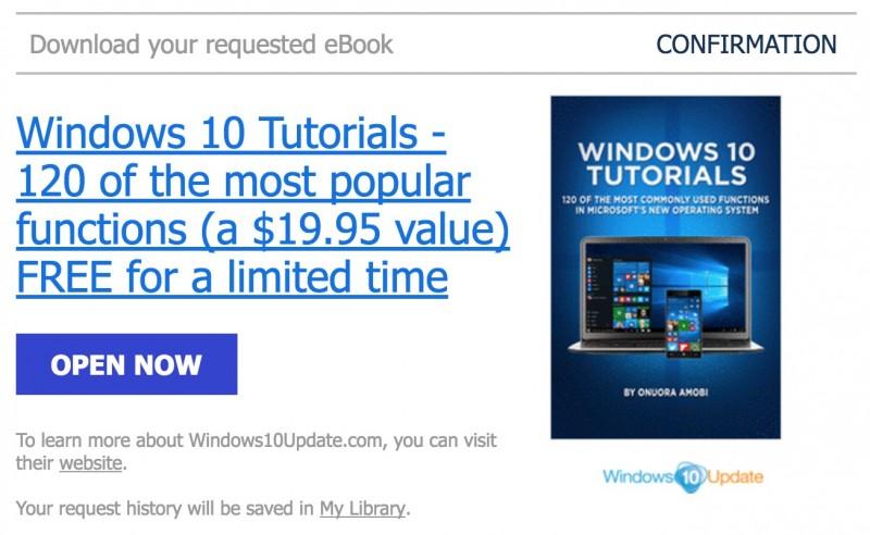 HOT: Download Ebook Tutorial Windows 10 Senilai 261 Ribu, Gratis!
