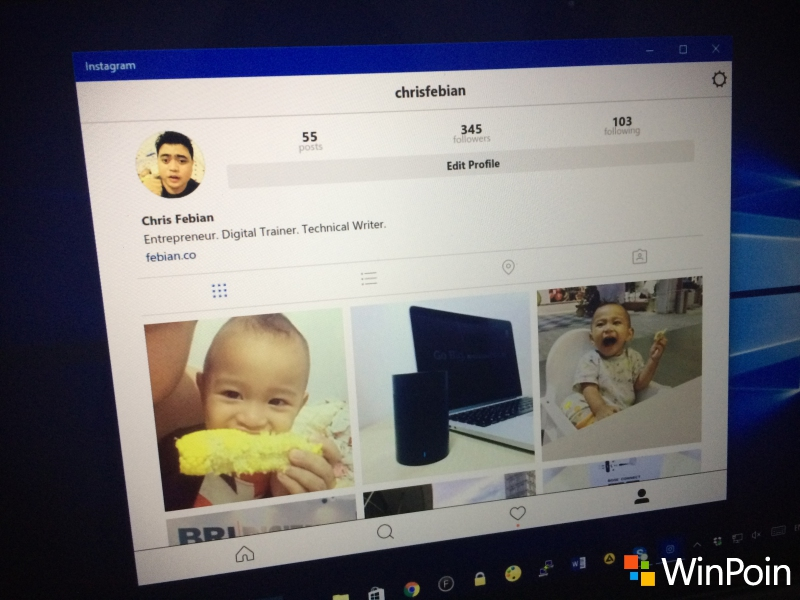HOT: Instagram untuk Windows 10 PC Dirilis!