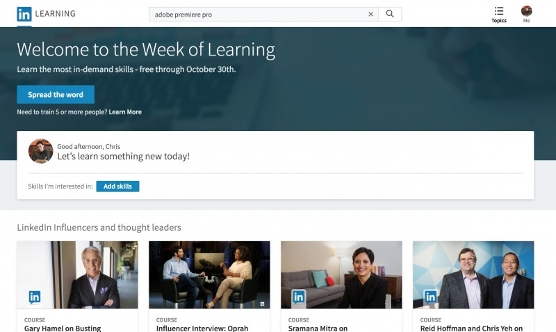 5000+ Video Tutorial Bisa Kamu Akses Gratis di LinkedIn Learning (Lynda)