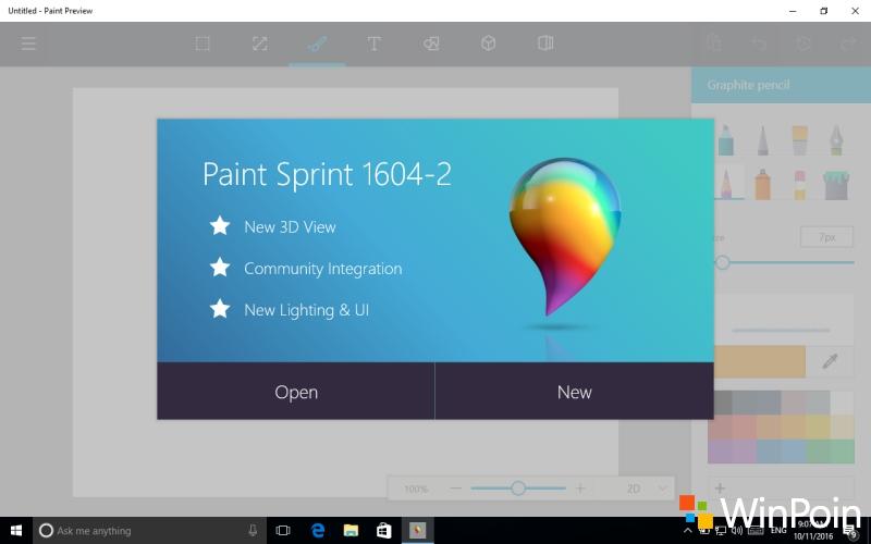 Mencoba Sendiri: Cara Install MS Paint Versi Baru yang Mendukung 3D