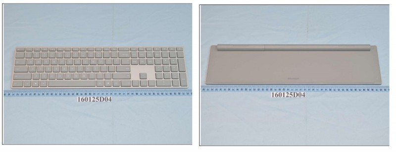 Surface Keybard FCC