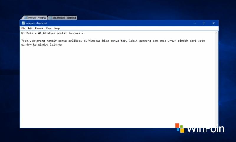 Cara Agar Aplikasi Apapun di Windows Memiliki Tab