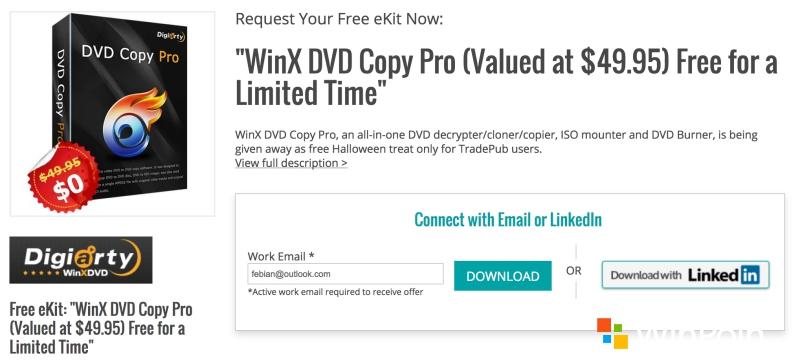 Dapatkan Lisensi Ori WinX DVD Copy Pro Senilai $49.95, GRATIS!