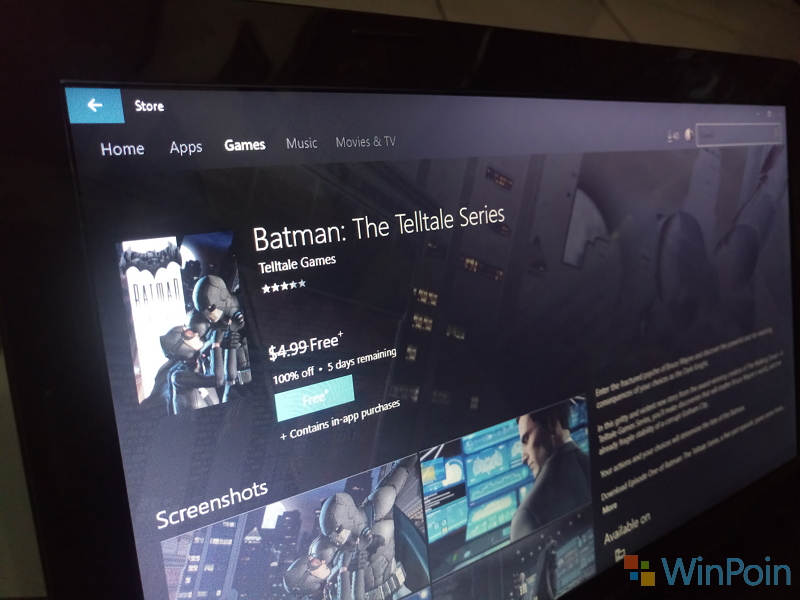 Ayo Segera Download, Game Batman - The Telltale Series Episode 1 Sedang Gratis!