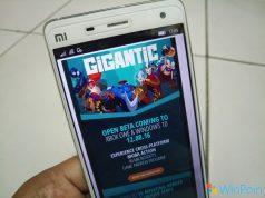 Gigantic 'Open Beta' Dimulai Tanggal 8 Desember Mendatang
