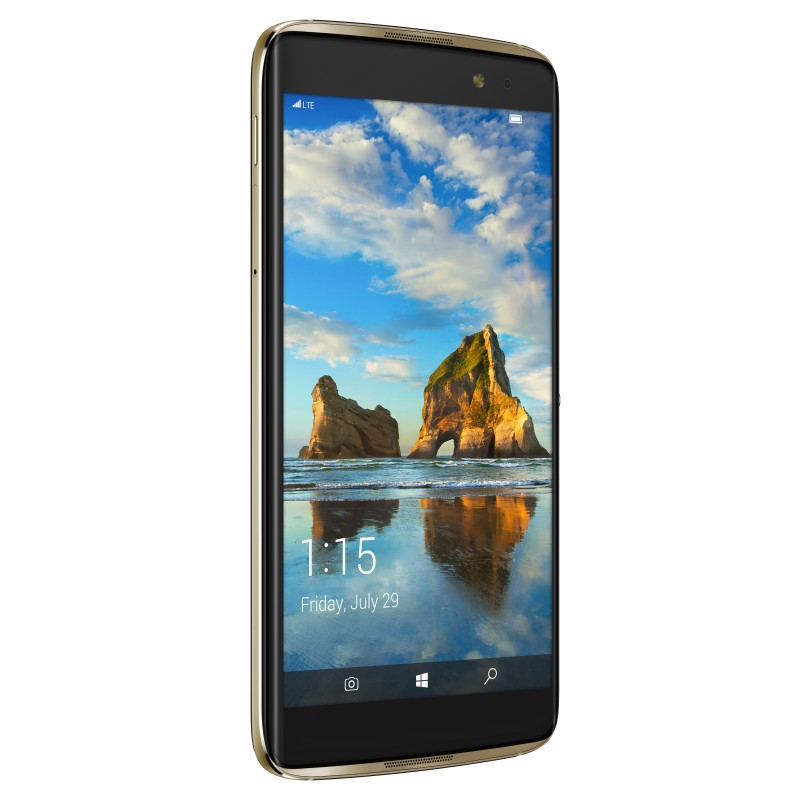 Alcatel Resmi Merilis Ponsel Windows 10 Mobile 'IDOL 4S'