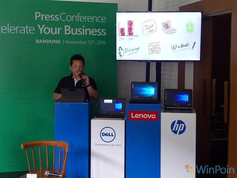 Bisnis Kamu Semakin Mudah dengan Windows 10 - Microsoft Accelerate Your Business