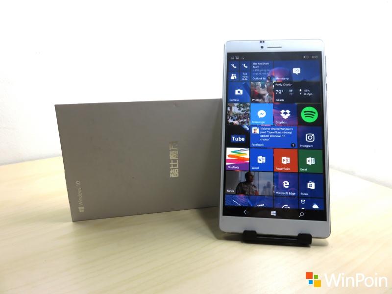 Jangan Lewatkan Giveaway Phablet Windows 10 Mobile, Cube WP10 4G dari WinPoin!