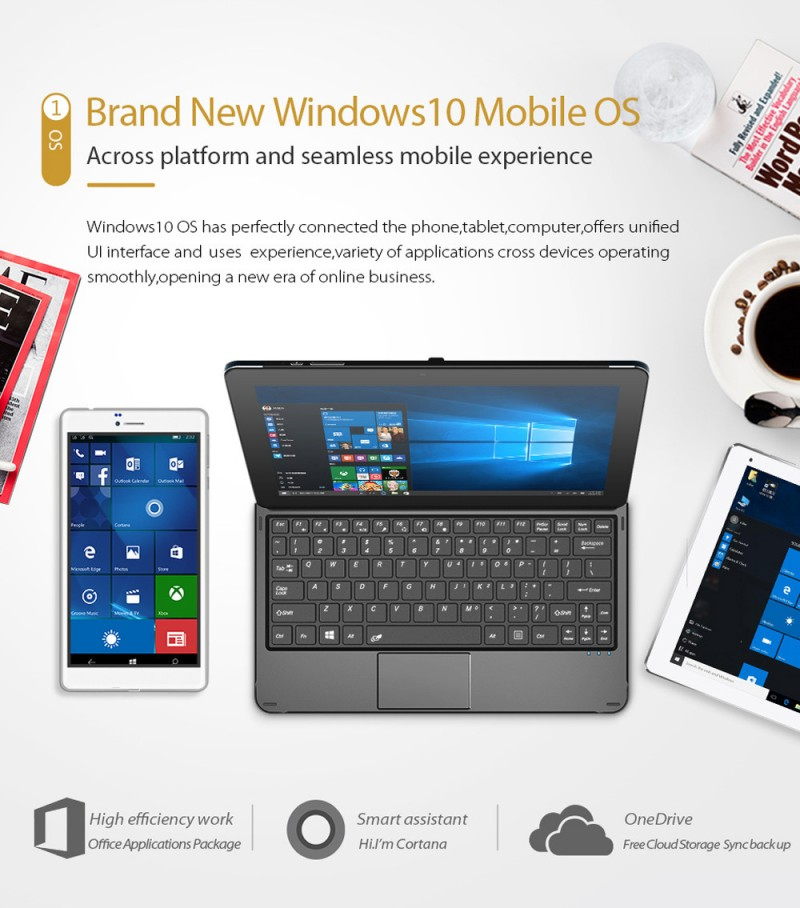 HOT: Cube Merilis Phablet Windows 10 Mobile dengan Harga Cuman 1.7 Jutaan!