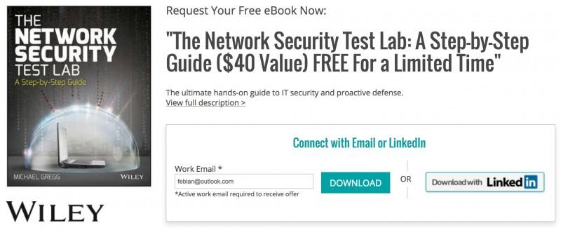 Download Panduan Hacking & Network Security (Senilai $40, GRATIS!)
