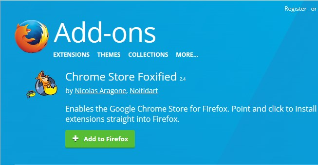 Cara Install Chrome Extensions di Firefox