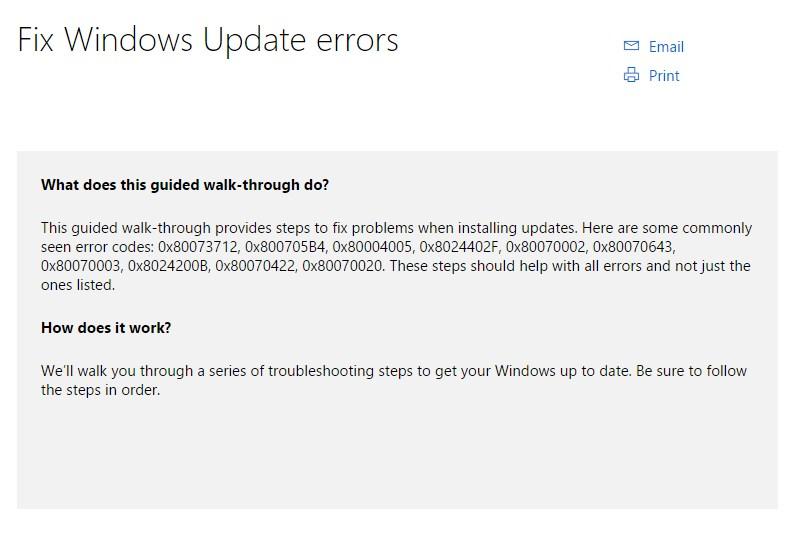 Error saat Update Windows? Coba Tool Baru Ini!