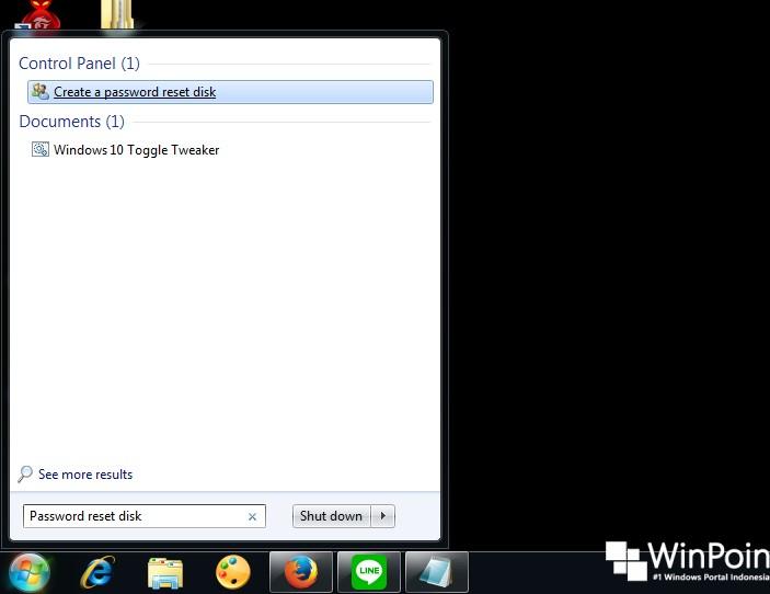 Cara Membuat Password Reset Disk di Windows 7