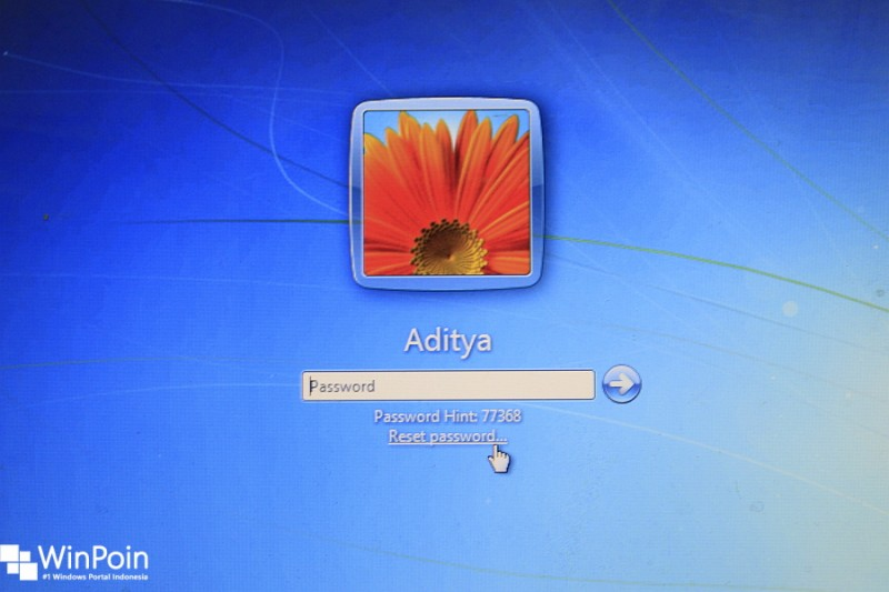 how to download password reset disk for windows 7