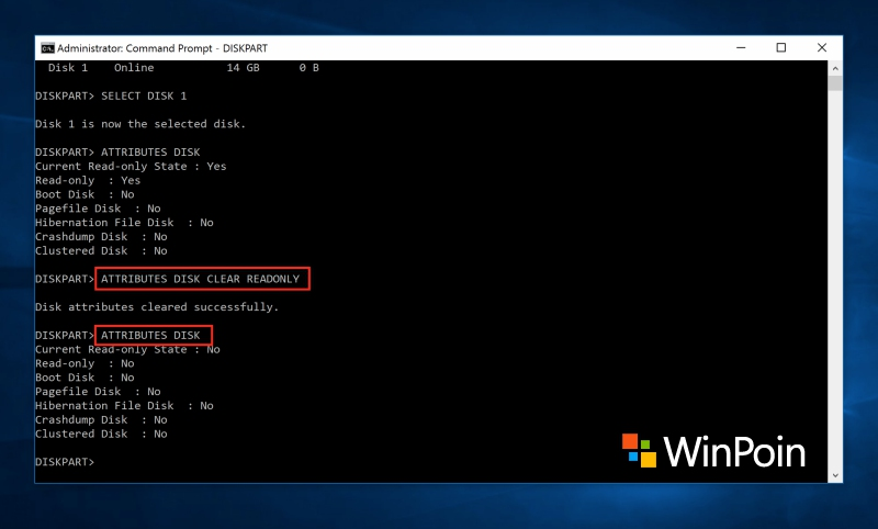 Cara Format Flashdisk Write Protected