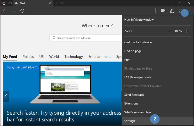 Cara Export Favorites dari Microsoft Edge (1)