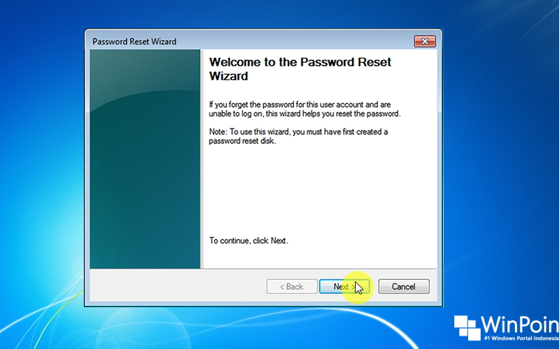 Cara Reset Password Windows 7 dengan Flashdisk (1)