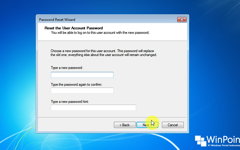 Cara Reset Password Windows 7 dengan Flashdisk (3)