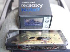 Samsung Galaxy Note Terbakar