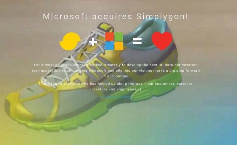 Ingin Percepat Inovasi 3D, Microsoft Akuisisi Simplygon