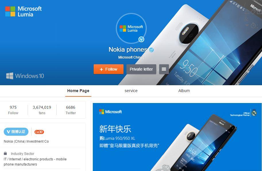 Microsoft China Merubah Nama Akun Microsoft Lumia Menjadi Nokia Phone?