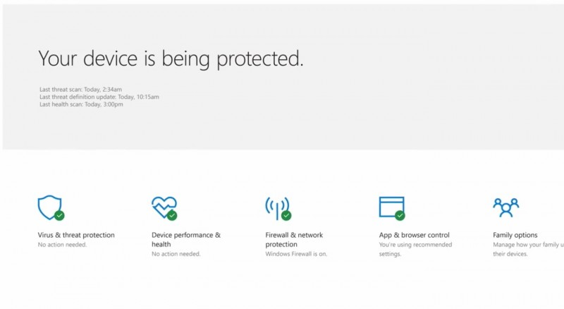 Yuk, Intip Windows Defender Security Center di Windows 10 Creators Update