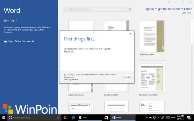 Tutorial Lengkap Cara Aktivasi Microsoft Office 2016